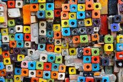 Colorful Ceramic Tile Patterns Background. Stock Images