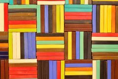 Colorful Ceramic Tile Patterns Background. Royalty Free Stock Image