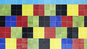 Colorful ceramic tiles Royalty Free Stock Photography