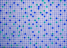 Colorful ceramic tiles wall Royalty Free Stock Photos