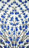 The Colorful ceramic tiles wall decoration Royalty Free Stock Photography