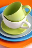 Colorful ceramics Royalty Free Stock Image