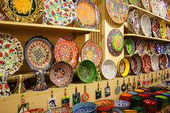 Colorful Ceramics Royalty Free Stock Photos