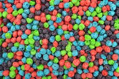 Colorful cereal Royalty Free Stock Photography