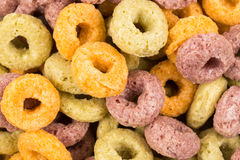 Colorful cereal Stock Image