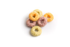 Colorful cereal Stock Photos