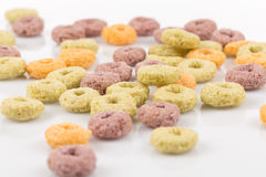 Colorful cereal Stock Images