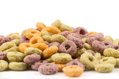 Colorful cereal Royalty Free Stock Image