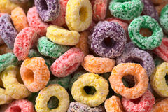 Colorful Cereal Loops Stock Photos