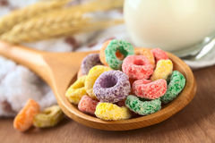 Colorful Cereal Loops Royalty Free Stock Photos