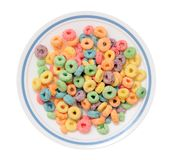 Colorful cereals Royalty Free Stock Photography