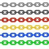 Colorful Chain Royalty Free Stock Images