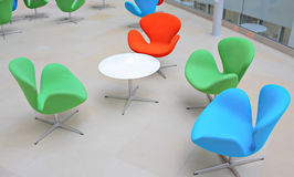 Colorful chairs Royalty Free Stock Photography