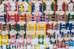 Colorful chairs Stock Photography