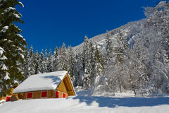 Colorful Chalet Stock Images