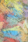 Colorful Chalk Background Stock Photos