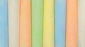 Colorful chalk Stock Photos