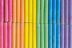 Colorful chalk background pattern. With rainbow shade Royalty Free Stock Image