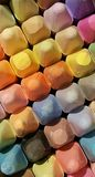 Colorful chalk. Colorful sidewalk chalk Royalty Free Stock Photography