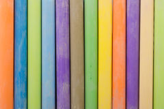 Colorful chalk sticks Royalty Free Stock Photo