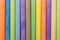 Colorful chalk sticks Royalty Free Stock Photo