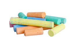 Colorful chalk . Stock Photo