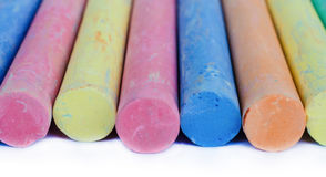Colorful chalk . Stock Photography