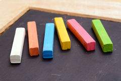 Colorful chalk Royalty Free Stock Images