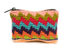 Colorful change purse guatemala stock images
