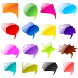 Colorful Chat Bubble Royalty Free Stock Images