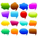 Colorful Chat Bubble. Easy to edit vector illustration of colorful chat bubble stock illustration