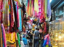 Colorful Chatuchak market, Thailand royalty free stock photo