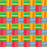 Colorful Check Seamless Pattern Royalty Free Stock Images