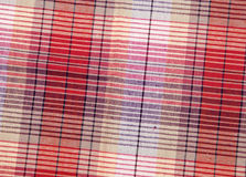 Colorful checkered texture background. Textile texture Royalty Free Stock Photo