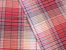 Colorful checkered texture background. Textile texture Royalty Free Stock Photography
