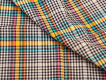 Colorful checkered texture background Royalty Free Stock Photography