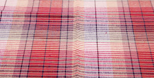 Colorful checkered texture background. Textile background Royalty Free Stock Photography