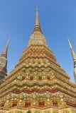 Colorful Chedis in Bangkok, Thailand Royalty Free Stock Photo