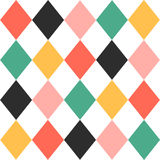 Colorful Chess Board Diamond Background Royalty Free Stock Images
