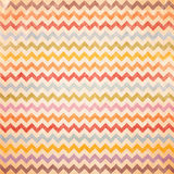 Colorful Chevron pattern for eggs Easter day. Vintage recycle paper texture background royalty free illustration
