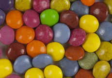 Colorful chewy dragees background Stock Photo