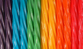 Colorful Chewy Licorice Candies Stock Image