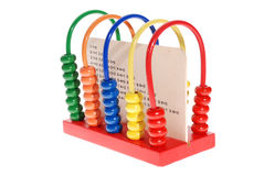 Colorful child abacus Stock Photography