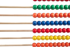 Colorful child abacus detail Stock Photography