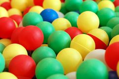 Colorful child balls Royalty Free Stock Photography