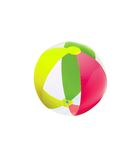 Colorful child beach ball isolated Royalty Free Stock Photo
