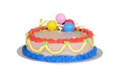 Colorful child birthday cake Stock Photo
