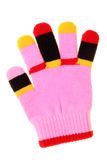 Colorful child glove Royalty Free Stock Photography