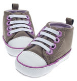 Colorful Child Sized Sneaker Shoes Royalty Free Stock Image