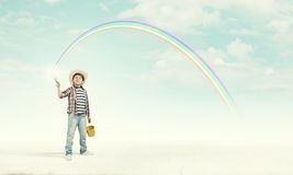 Colorful childhood Stock Photography